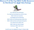 57 of The Top FREE Traffic Resources That You Need