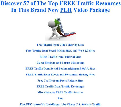 Product picture 57 of The Top FREE Traffic Resources That You Need